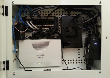 A Small home Networking system.