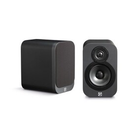 Q Acoustics 3010 Bookshelf Speakers Graphite finish