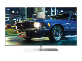 "Panasonic 55"" Premium LED 4K TV, swivel pedestal"