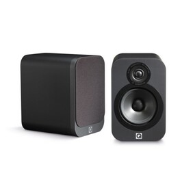 Q Acoustics 3020 Speakers (Pair) Bookshelf Speakers Graphite finish